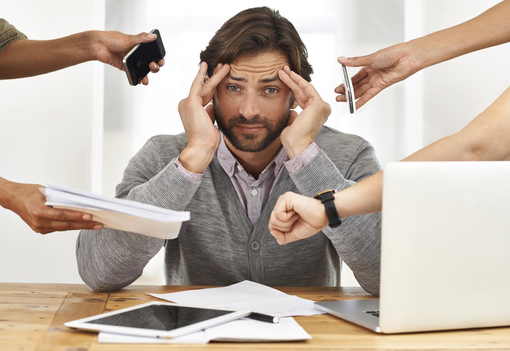 Preocupado com os sintomas do Stress? Cuide da sua saúde!