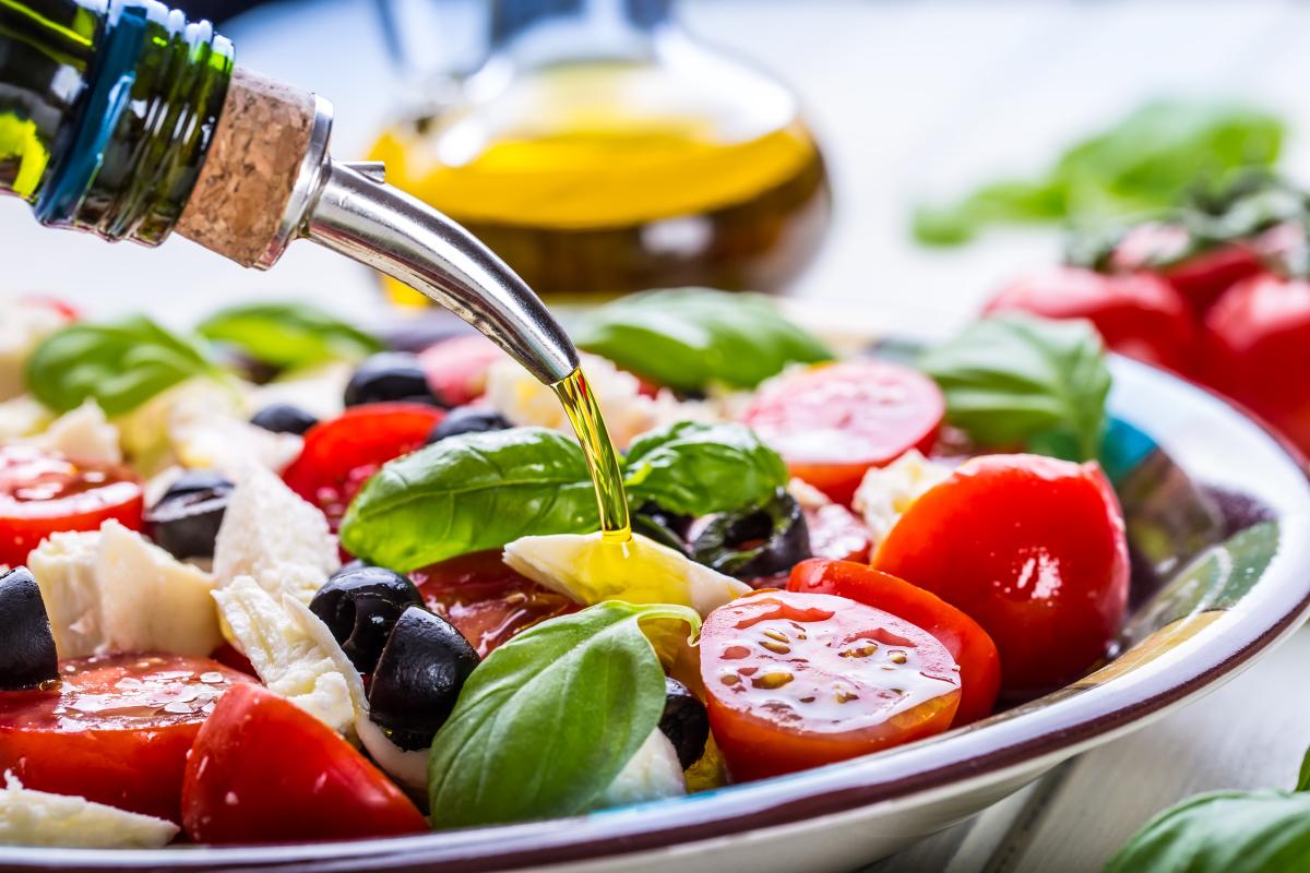 Adote a Milagrosa Dieta Mediterrânea